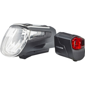 Trelock LS 560 I-GO Control/LS 72 Sistema di illuminazione, black